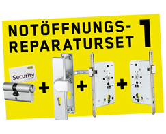 Notöffnungs - Reparatur - Set